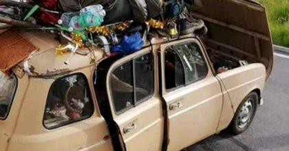 """Coronavirus, chi sono i ragazzi della Renault 4 che hanno """"bucato"""" il blocco sullo Stretto di Messina"""