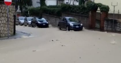 Avellino, guasto ad una conduttura idrica: mezza città senz'acqua VIDEO