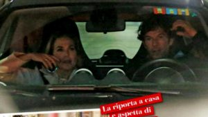 Barbara D'Urso cena romantica con l'ex