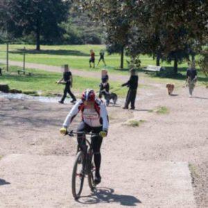 caffarella runners ciclisti 1