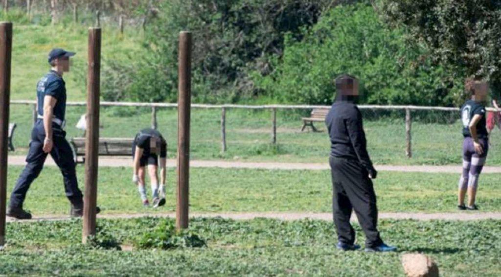 runners parco caffarella