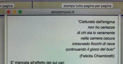 Piero Chiambretti ricorda con una sua poesia la madre morta di coronavirus