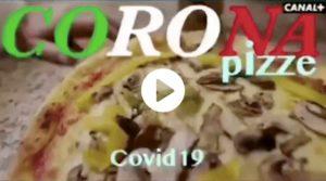 Pizza al coronavirus in Italia: lo spot satirico della tv francese