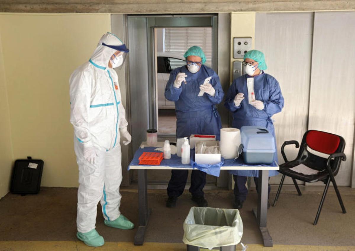 Coronavirus casa di riposo: 72 positivi a Villafrati, 7 a Bosconero
