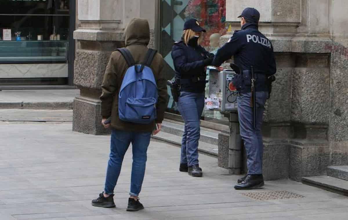 Coronavirus sanzioni: alla fine è una mini multa da 280 euro