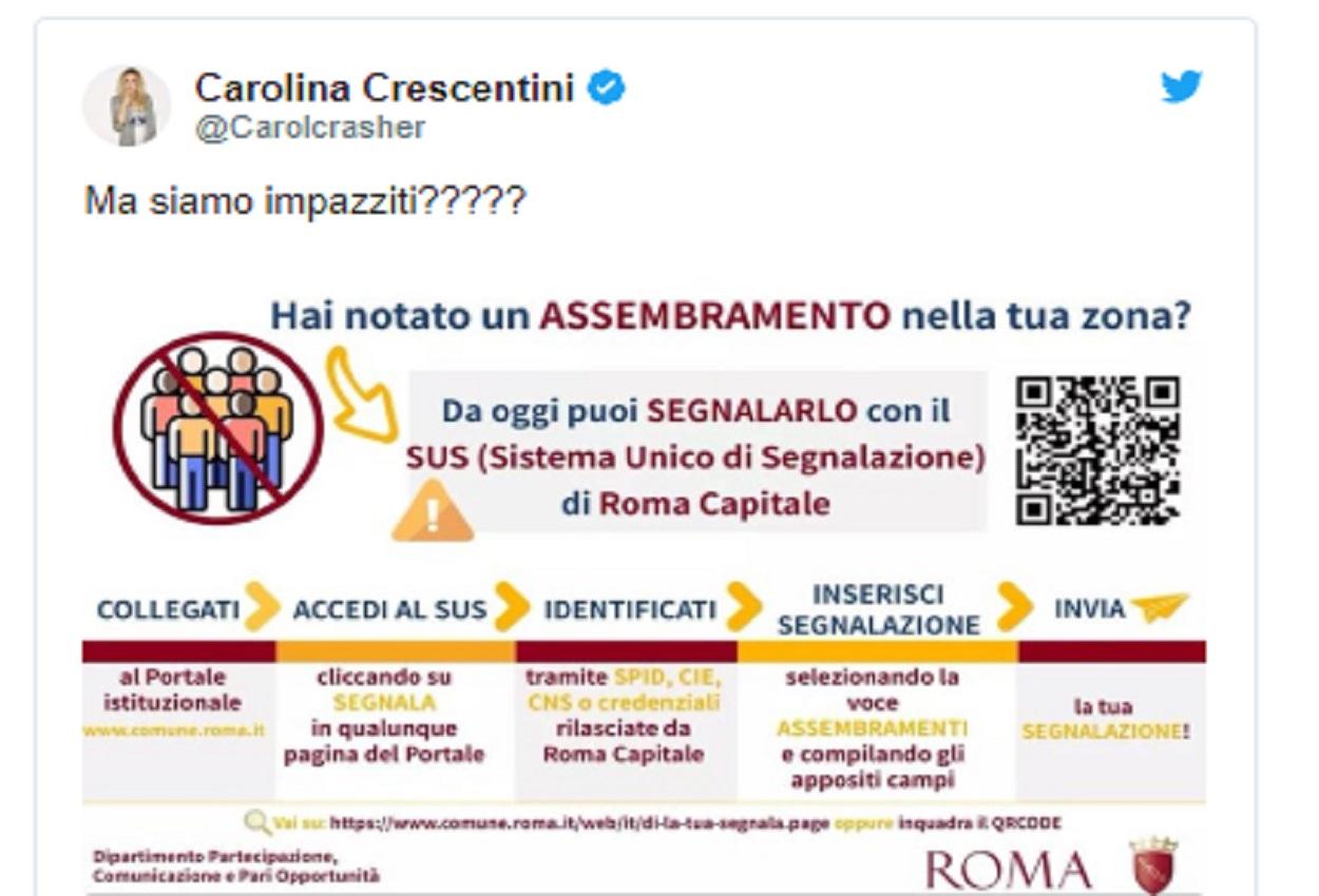 Crescentini, coronavirus