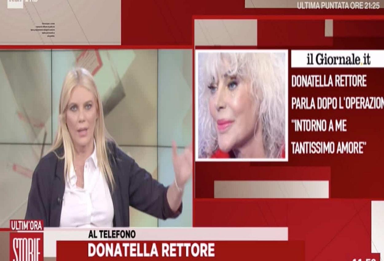 Donatella Rettore, Storie Italiane