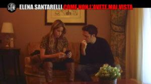 Elena Santarelli e lo scherzo de Le Iene: balbetta furiosa