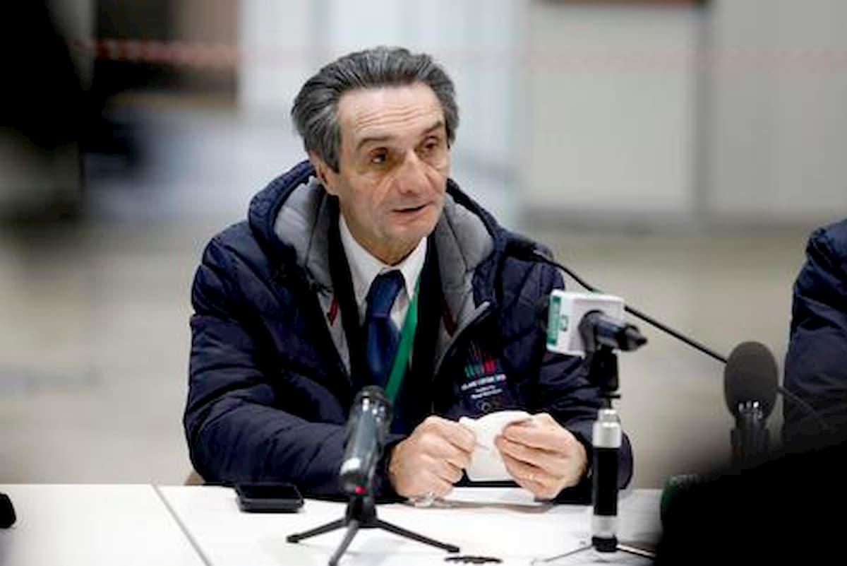 """Coronavirus, in Lombardia + 2500 contagi in un giorno. Allarme Fontana: """"Sono preoccupato"""""""
