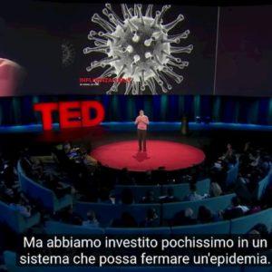 """Coronavirus, la 'profezia' di Bill Gates nel 2015: """"Ci ucciderà un virus influenzale sconosciuto"""" VIDEO"""