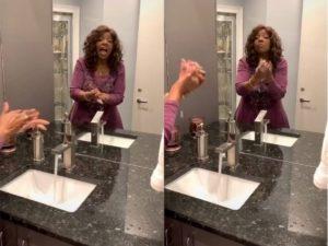 """Coronavirus, Gloria Gaynor e il tutorial di 20 secondi per lavarsi le mani sulle note di """"I will survive"""" VIDEO"""