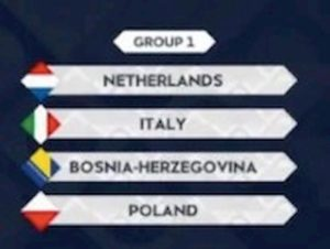 Nations League, Italia con Olanda, Bosnia e Polonia