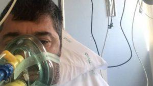 """Coronavirus, Matteo Malaventura ricoverato e attaccato all'ossigeno: """"Spero di guarire"""""""