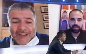 """L'Aria Che Tira, Luigi Marattin gelato dal medico: """"I politici dovrebbero stare zitti e venire in reparto"""""""