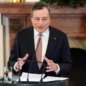 Mario Draghi: Liquidità per proteggere economia da coronavirus