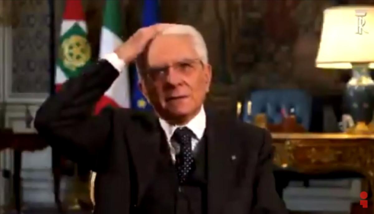 Mattarella fuorionda discorso coronvirus: Non vado dal barbiere...