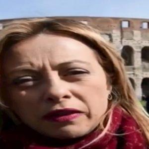 Giorgia Meloni, video in inglese