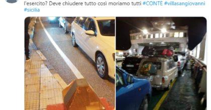 Messina, Twitter
