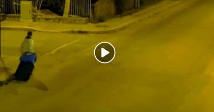 Molfetta telecamere strada trolley