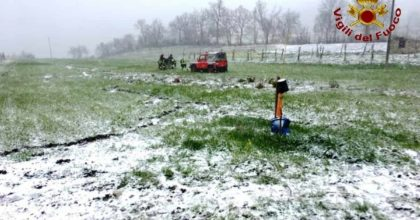 Castelfranci, anziano muore precipitando in un pozzo profondo 30 metri: era coperto dalla neve
