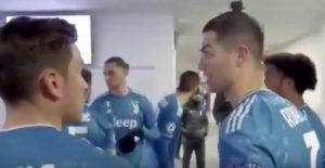 Cristiano Ronaldo allenatore al posto di Sarri? Spunta video su Lione-Juventus