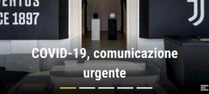 Coronavirus, Juventus mette in quarantena 121 persone
