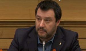 Salvini su audio Gabrielli