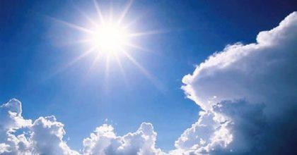 Previsioni meteo, settimana di caldo e sole: in Sicilia fino a 27 gradi