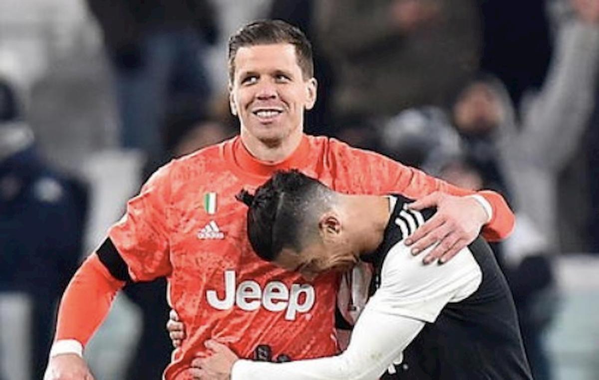 """Juventus, Szczesny e il retroscena su Cristiano Ronaldo: """"Ecco cosa ha regalato a tutti per farsi perdonare per un'espulsione"""""""