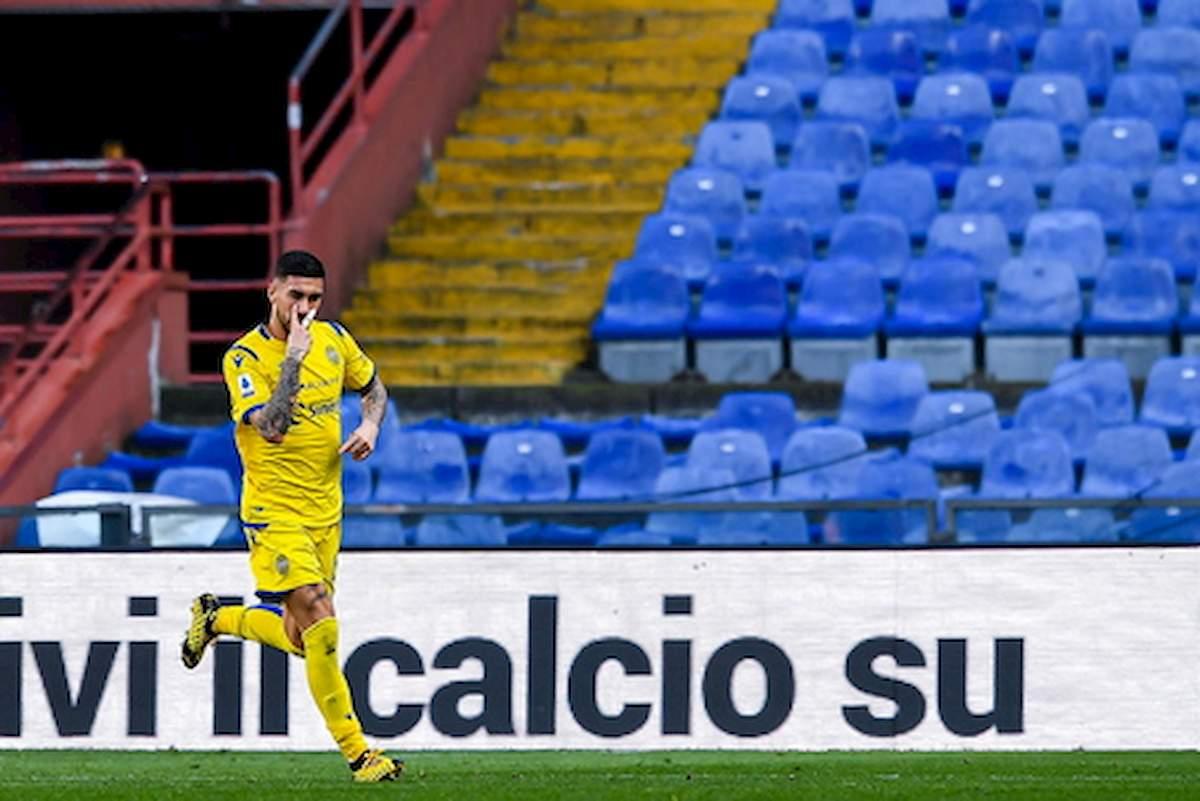 Coronavirus, primo calciatore contagiato nel Verona: è Mattia Zaccagni