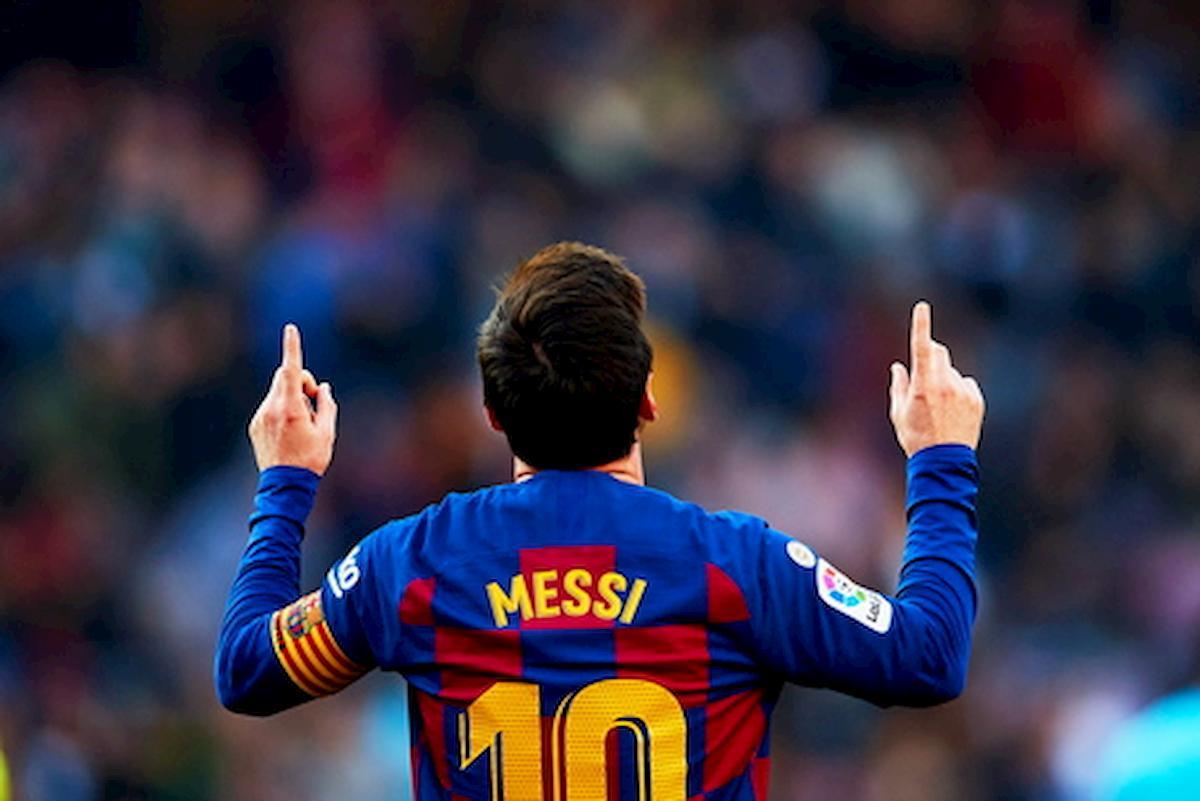 Messi: nei primi cinque minuti tocca pochi palloni per studiare gli avversari