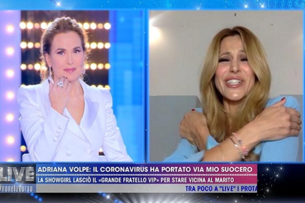 Adriana Volpe e il coronavirus: Non potevo abbracciare mia figlia