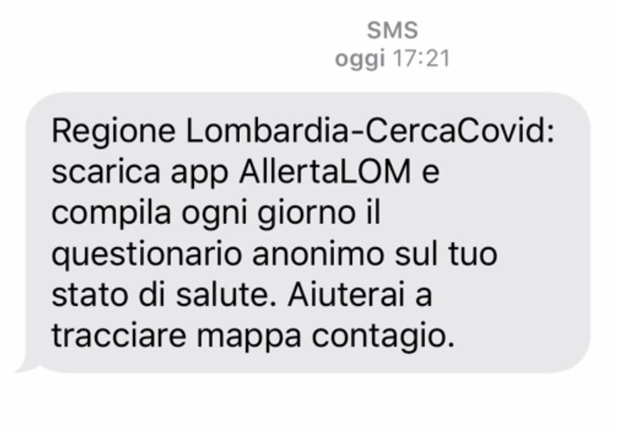 """Coronavirus, AllertaLOM: la app della Lombardia per un """"triage a distanza"""""""