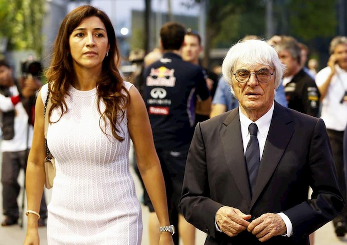 """Bernie Ecclestone, 89 anni, padre per la quarta volta. """"Speriamo non gli piaccia la Formula 1"""""""