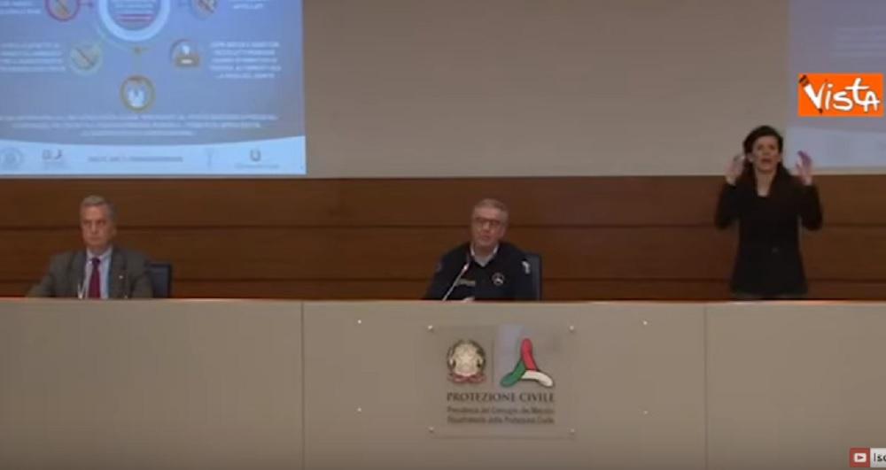 """Coronavirus, Borrelli: """"Scordatevi Pasqua e Pasquetta fuori"""" VIDEO"""