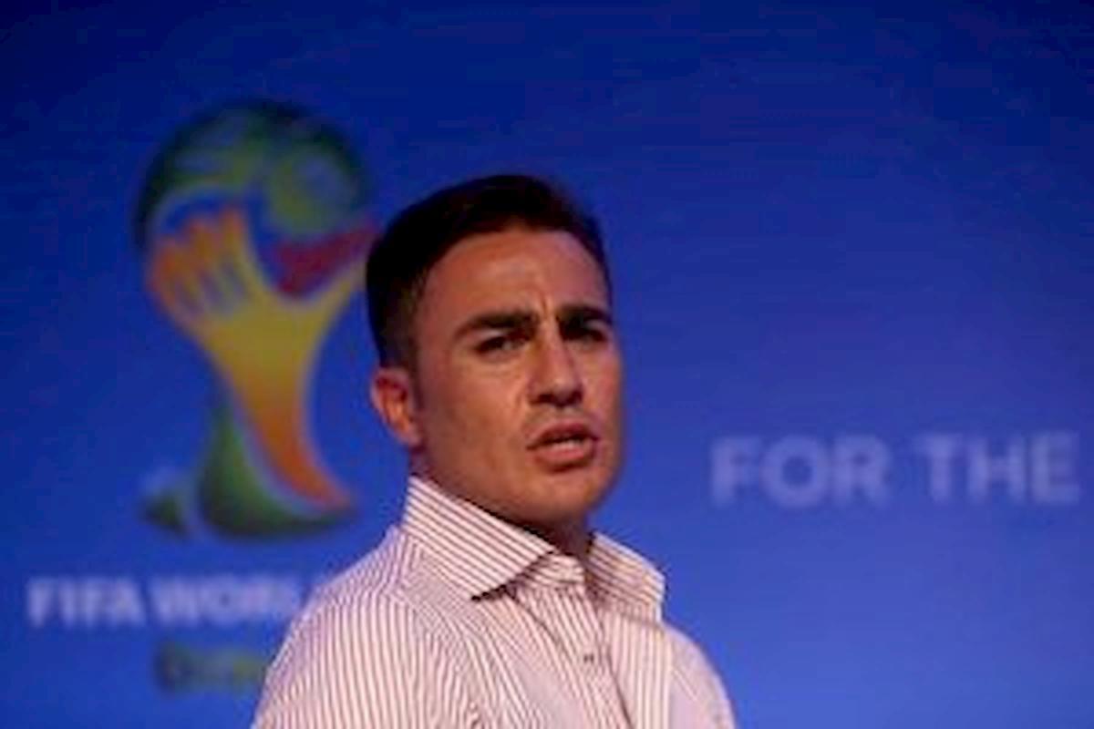 """Cannavaro: """"Sogno di allenare il Real Madrid o la Nazionale Italiana"""""""