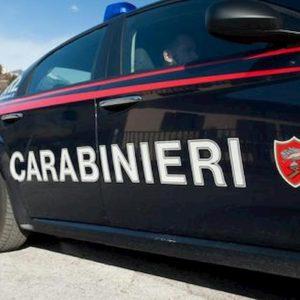 Auto Carabinieri foto Ansa