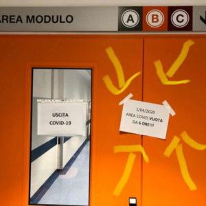 Coronavirus a Pisa, cartello pronto soccorso: No ricoveri da 6 ore