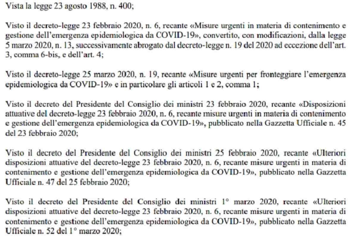 Dpcm Fase 2 Coronavirus Italia del 26 aprile: il testo completo in Pdf
