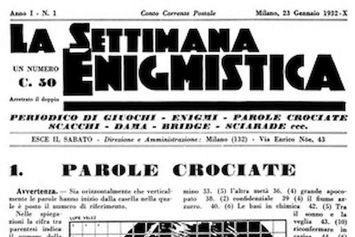 """Milano, ruba 42 copie della Settimana Enigmistica. """"Volevo rivenderle ai vecchietti"""""""