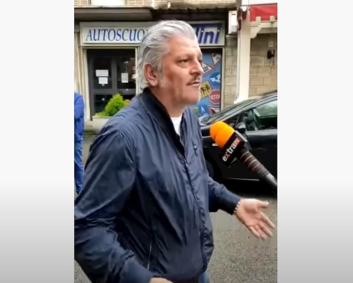 """Frosinone, titolare Osteria Panzini minaccia di dar fuoco al locale: """"Dal governo solo promesse"""" VIDEO"""