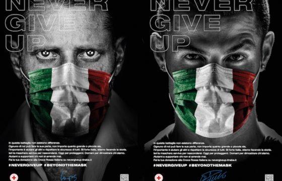 """Coronavirus, Lapo Elkann e il progetto """"Never Give Up"""". Solidarietà con la mascherina tricolore"""