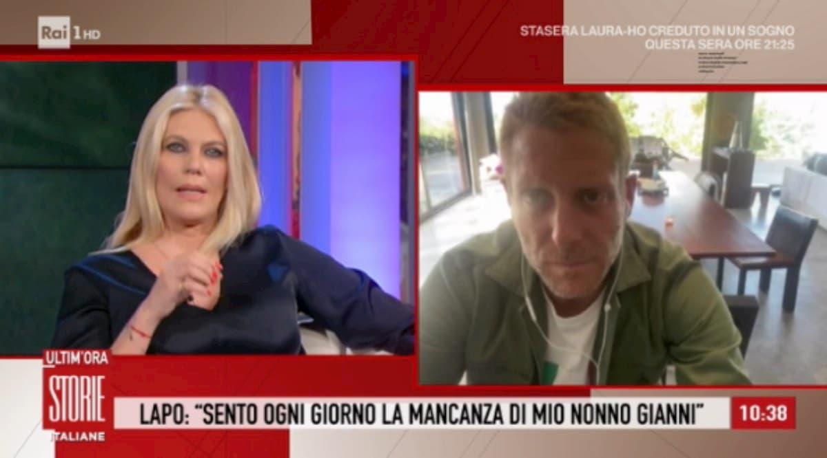 """Lapo Elkann a Storie Italiane: """"Ho cambiato vita, mia figlia la chiamerò Italia"""""""