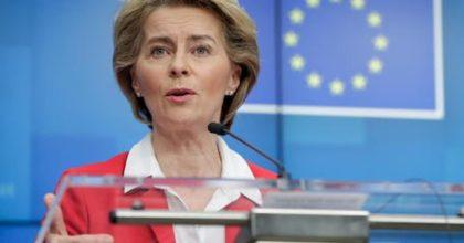 """Coronavirus, alla fine Ursula von der Leyen (Commissione Ue) si scusa: """"Italiani, siamo con voi"""""""