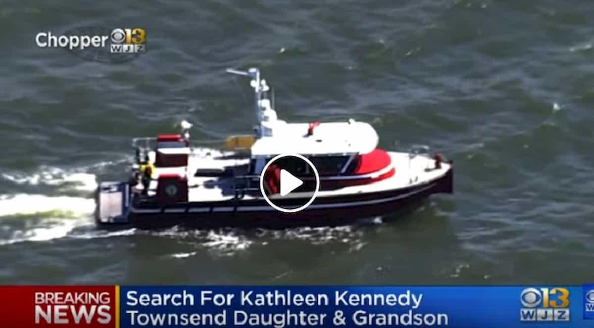Maledizione dei Kennedy: Maeve e il figlio di 8 anni dispersi in mare davanti al Maryland