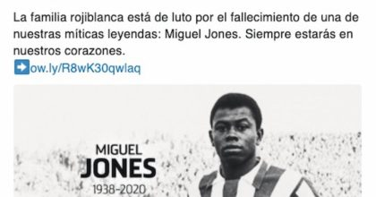 Miguel Jones è morto, è stato una leggenda dell'Atletico Madrid
