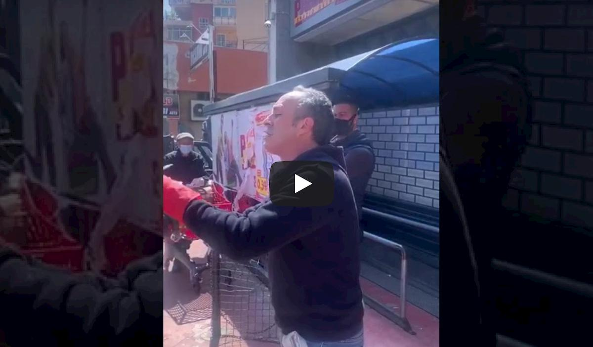 """Coronavirus Palermo, lo sfogo di un dipendente del supermercato: """"Non venite tutti i giorni a fare la spesa"""" VIDEO"""