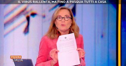 """Barbara Palombelli sulla circolare del Viminale: """"Se qualcuno in Italia la capisce..."""""""