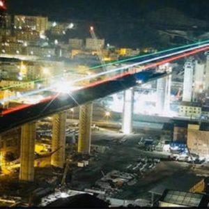 Genova, il ponte di Piano simbolo della rinascita dopo il coronavirus