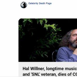 hal willner morto